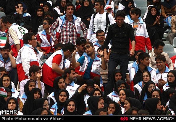 همایش 100هزار نفری استادیوم آزادی