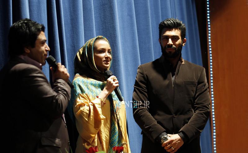 عکس روناک یونسی و همسرش محسن میری در مراسم موسسه خیریه و نیکوکاری ریحانه
