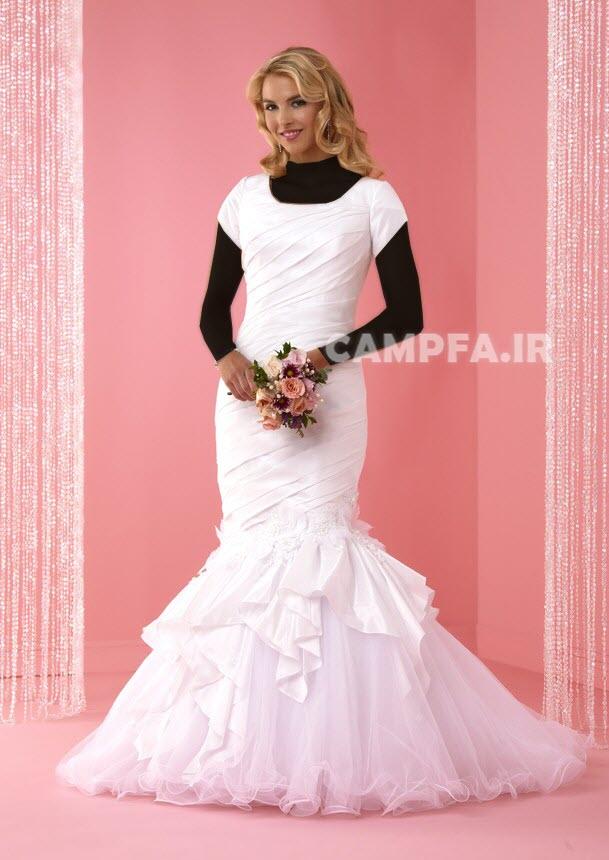 مدل های جدید و متنوع لباس عروس 2013