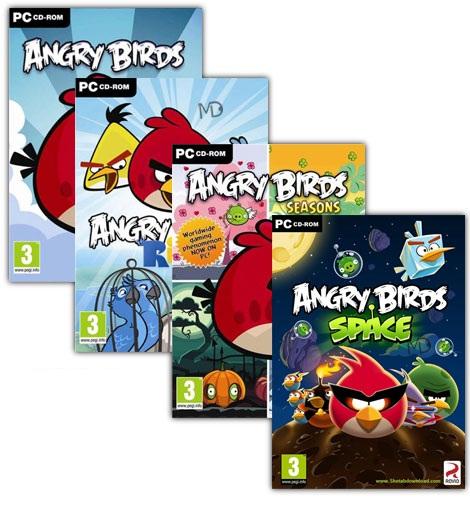 خرید بازی پرندگان خشمگین