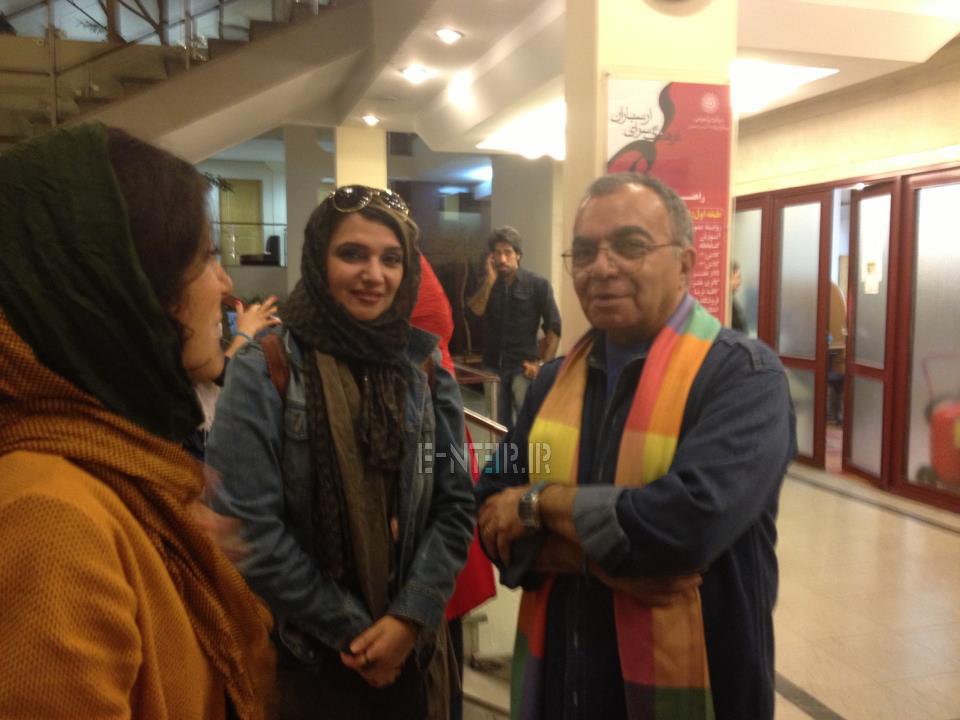 عکس جدید الهام پاوه نژاد در نمایشی به نفع زلزله زدگان بوشهر