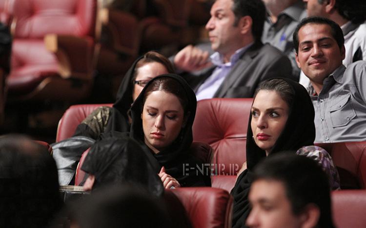 عکس جدید الیزابت ایمنی و لادن سلیمانی در جشن تقدیر از پیشکسوتان باشگاه پرسپولیس