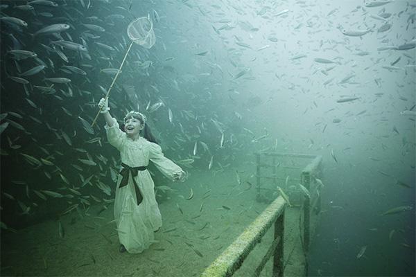 هنر عکاسی: نمایشگاه عکاسی در اعماق دریا!