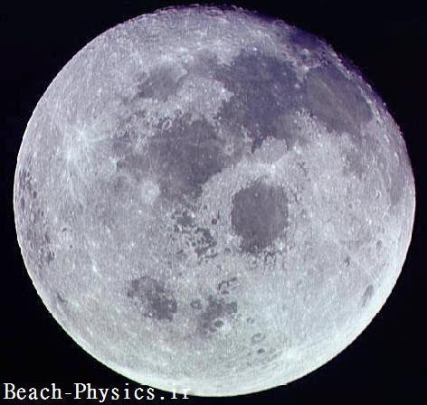 چرا تنها یک طرف ماه را می بینیم؟