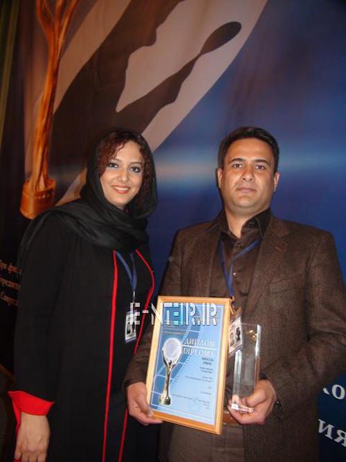 عکس جدید الهه حسینی و همسرش