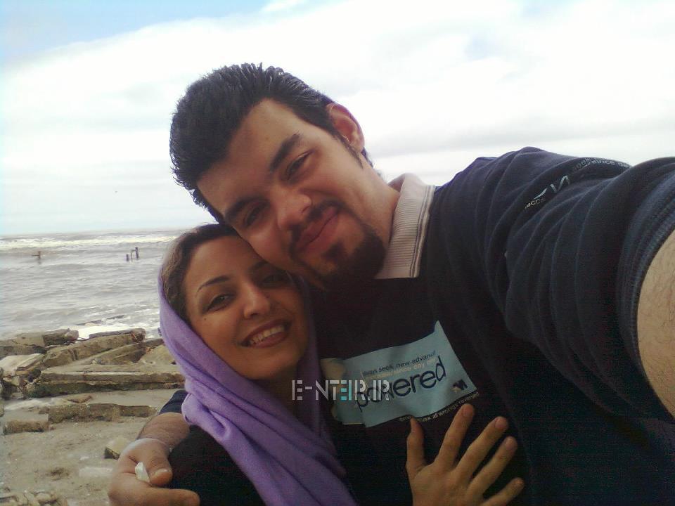 عکس جدید کامیار محبی و همسرش