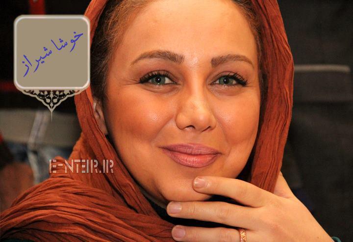 عکس جدید بهنوش بختیاری در پشت صحنه برنامه خوشا شیراز