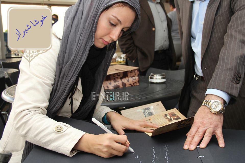عکس جدید حدیث میر امینی در پشت صحنه برنامه خوشا شیراز