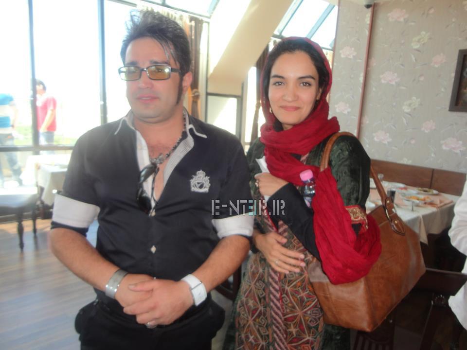 عکس جدید میترا حجار در پشت صحنه برنامه خوشا شیراز