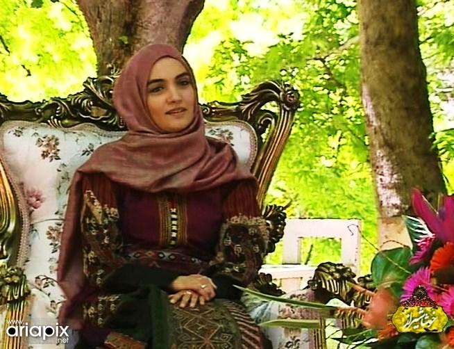 عکس های جدید میترا حجار در برنامه خوشا شیراز اردیبهشت ماه 1392