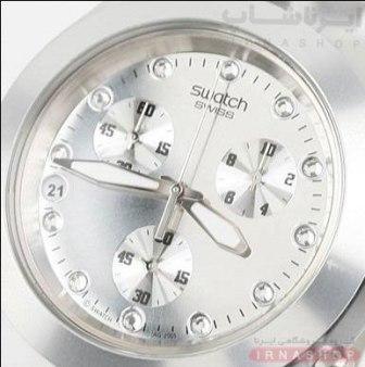 خرید ساعت مچی مردانه سواچ نقره ای