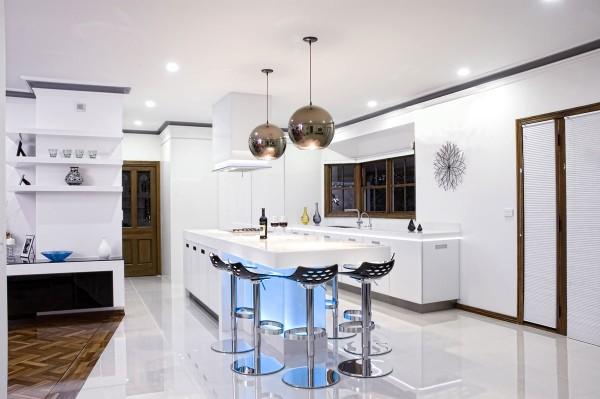 17 طرح شیک و لوکس آشپزخانه از کوربوی