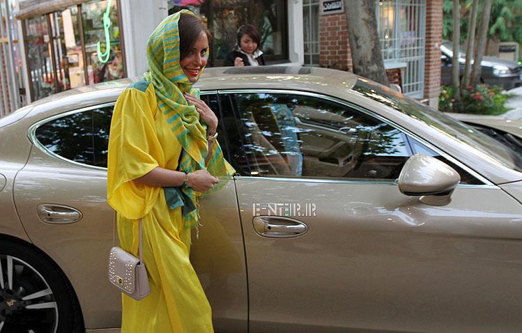 جدید ترین عکس های الناز شاکردوست در اکران خصوصی فیلم رالی  ایرانی