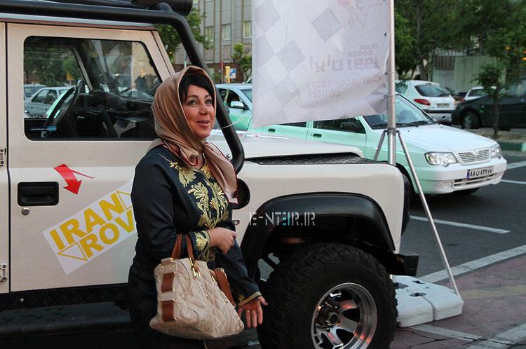 عکس جدید بهنوش بختیاری بازیگر فیلم رالی ایرانی