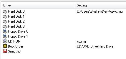 Qemu manger اجرای ویندوز روی اندروید با