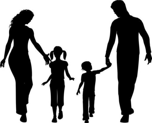 mom and dad and son and daughter - پدر و مادر و دختر و پسر - والدین و فرزندان - parents and children