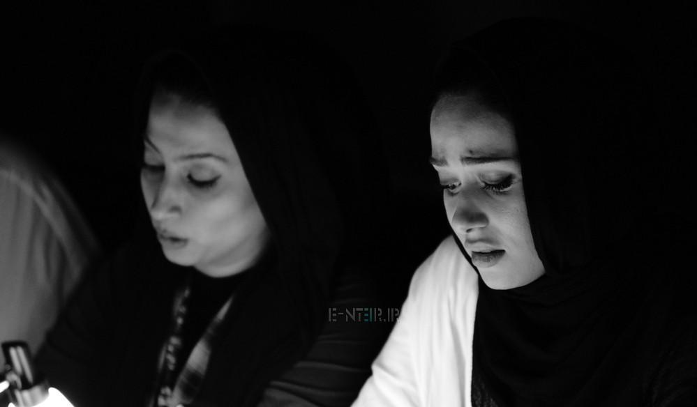 عکس های پریناز ایزدیار در نمایشنامه خوانی سفر به نهایت دور