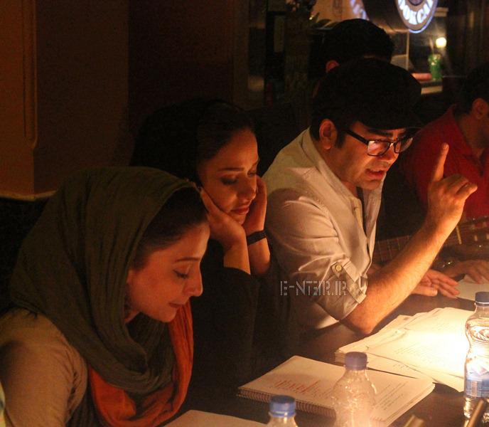 جدید ترین عکس های پریناز ایزدیار و فرزاد حسنی