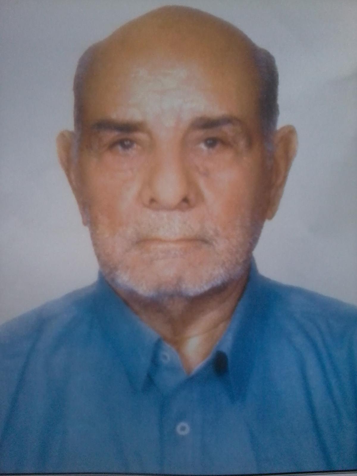 مرحوم حاج محمد چشمی