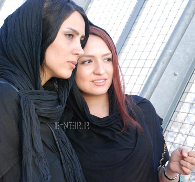 عکس جدید گلاره عباسی و سمیرا ذکایی در برج میلاد