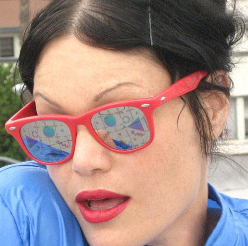 خرید عینک ویفری قرمز
