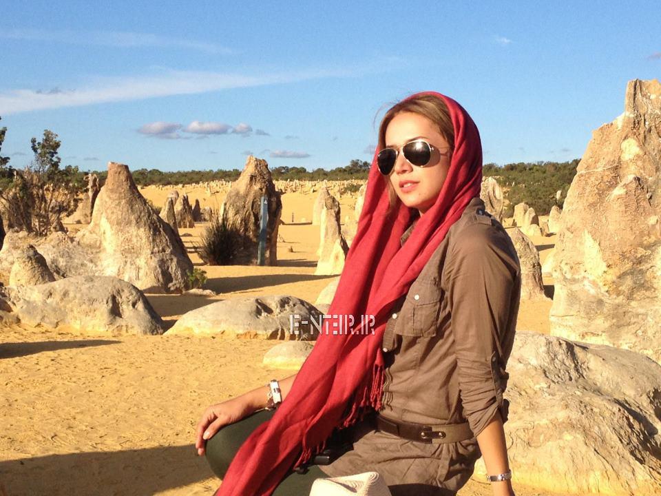 عکس شخصی و جدید شبنم قلی خانی در خارج از کشور