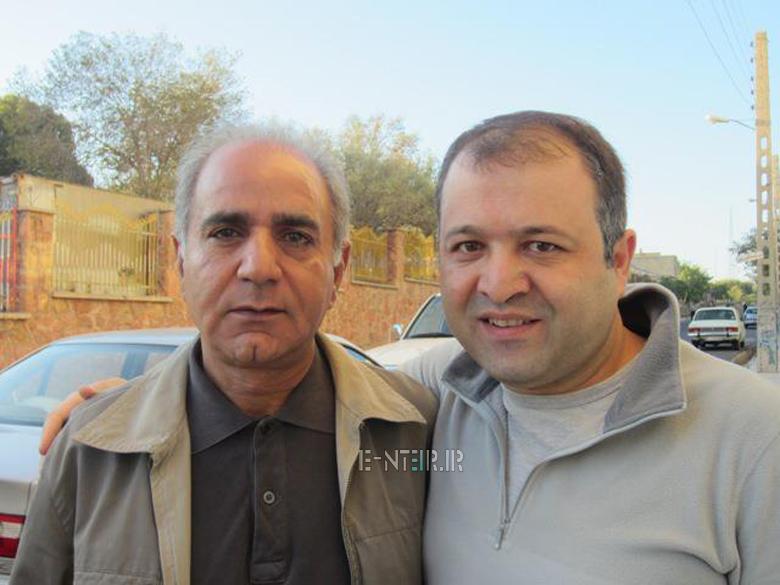 عکس جدید پرویز پرستویی و علی صالحی
