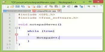 دانلود نرم افزار notepad++