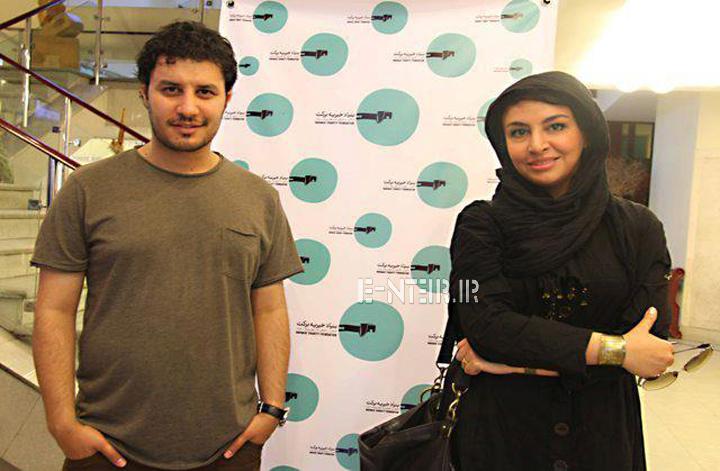 عکس جدید مه لقا باقری و همسرش جواد عزتی