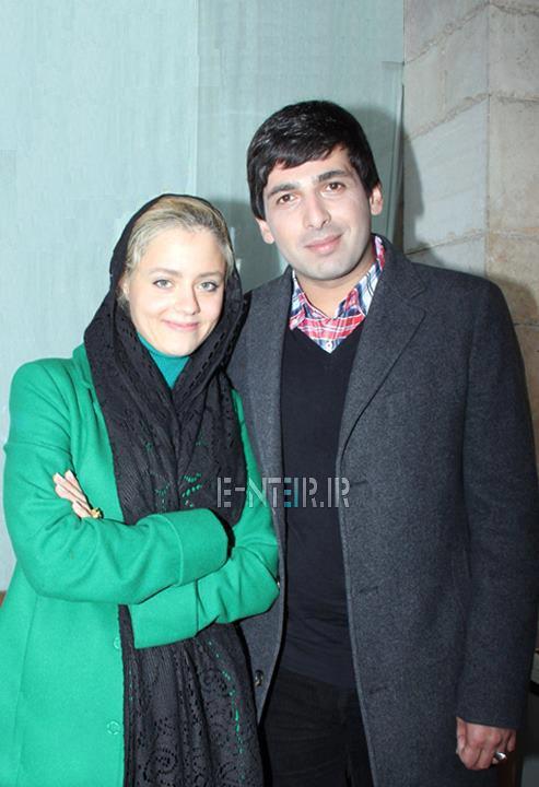 عکس جدید حمید گودرزی و همسرش