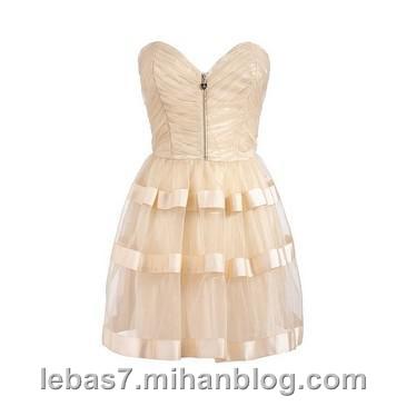 مدل لباس شب كوتاه 2013