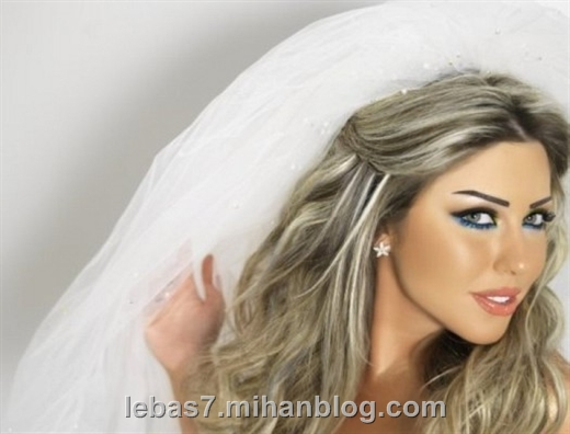مدل آرایش عروس 2013