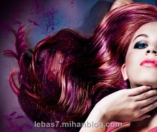رنگ مو زنانه 2013