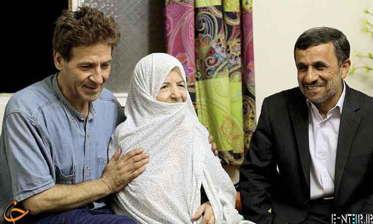 عکس های احمدی نژاد در خانه ابوالفضل پور عرب