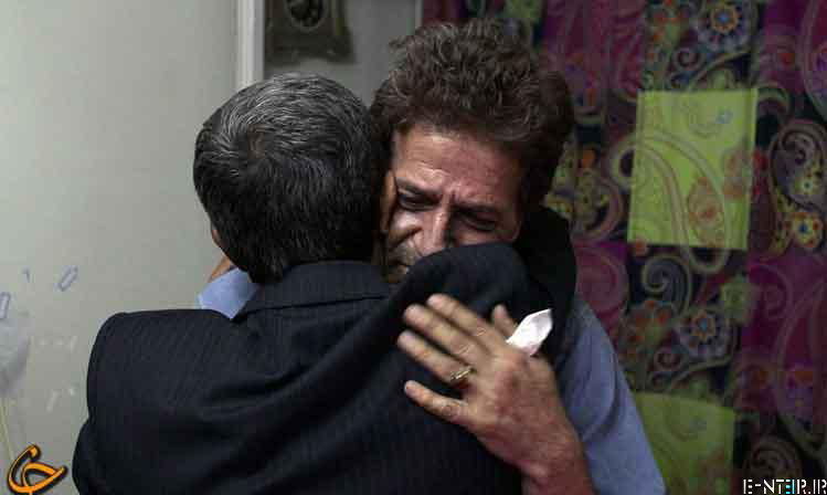 عیادت سرزده احمدی نژاد از ابوالفضل پورعرب