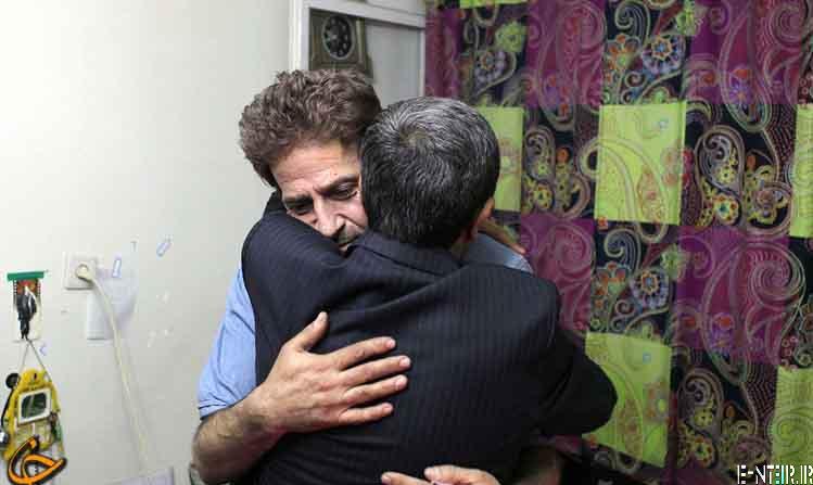 عکس های رئیس جمعور در خانه ابوالفضل پور عرب