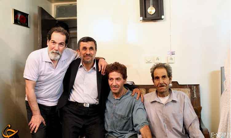 عکس های عیادت سرزده احمدی نژاد از ابوالفضل پورعرب | www.funyfun.ir