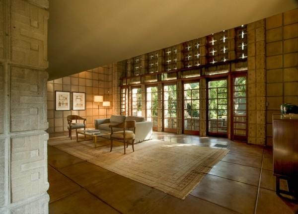 خانه ی میلارد از فرانک لوید رایت