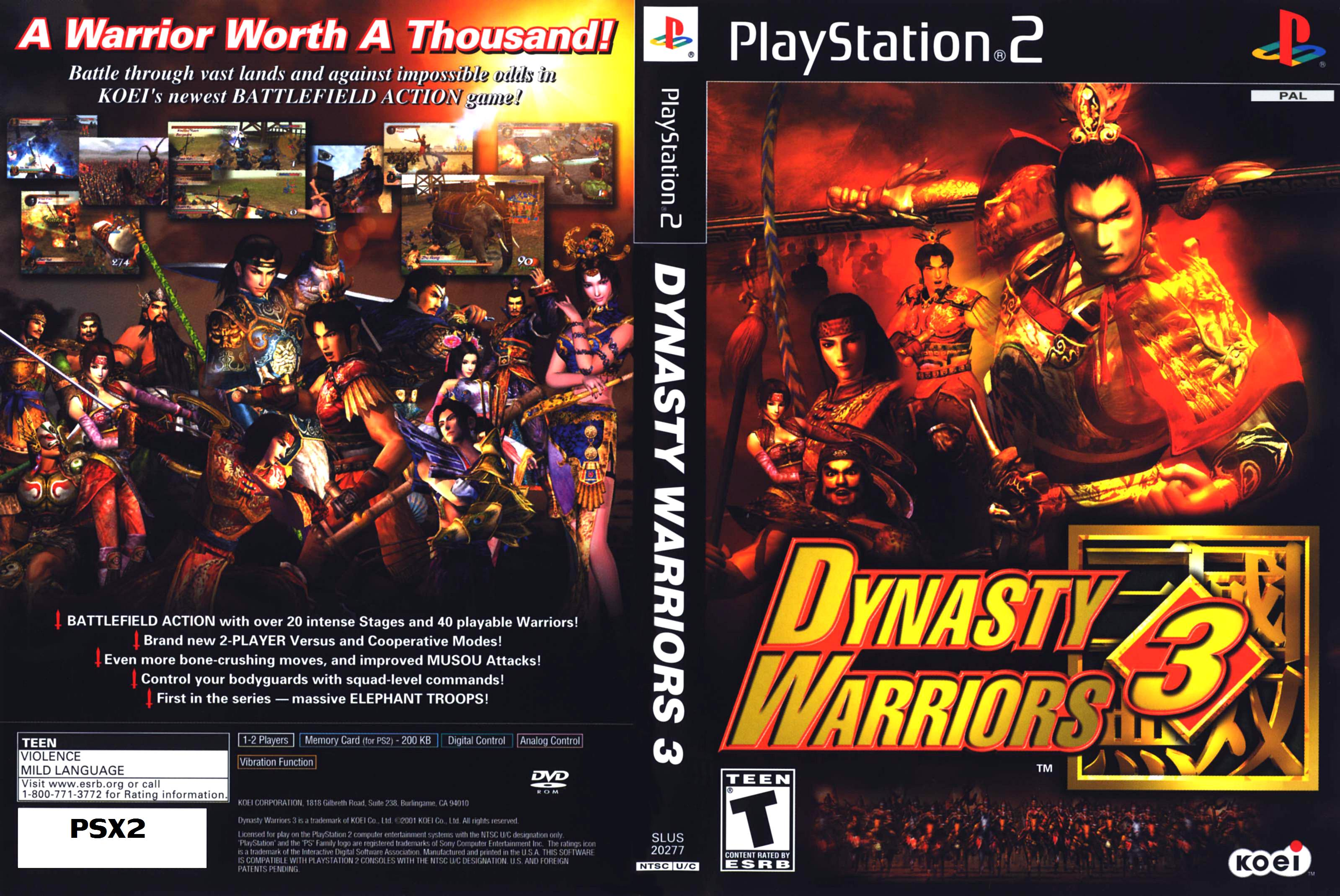 Dynasty Warriors Pal