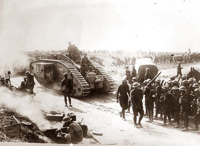 عکسهای جالب از جنگ جهانی اول