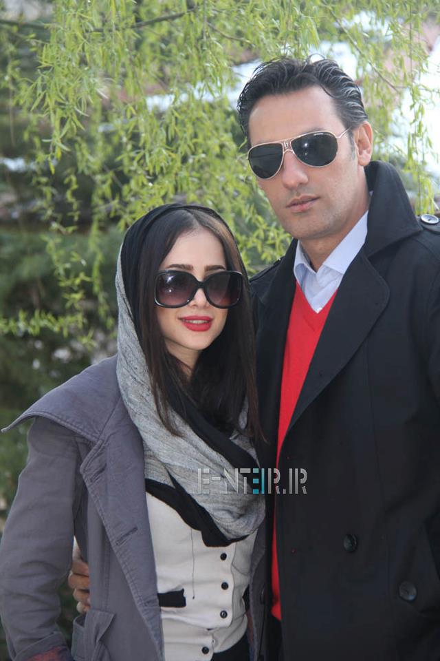 جدید ترین عکس الناز حبیبی و همسرش
