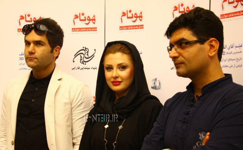 حضور نیوشا ضیغمی در مراسم اکران فیلم سینمایی اقای الف