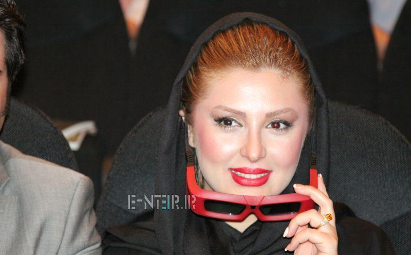 عکس های حضور نیوشا ضیغمی در مراسم اکران فیلم اقای الف