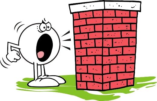 talk to a brick wall - am I talking to a brick wall - با دیوار حرف زدن