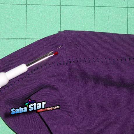 ساخت یک کیسه زیبا از تی شرت دور ریختنی