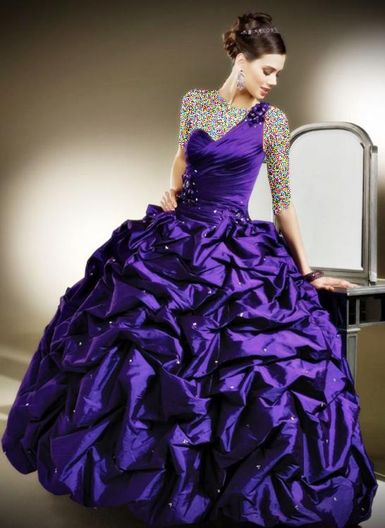 جدیدترین و زیباترین مدل های لباس نامزدی 2013 www.fun-center.ir