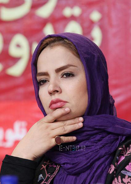 سپیده خداوردی در نشست خبری سریال پروانه
