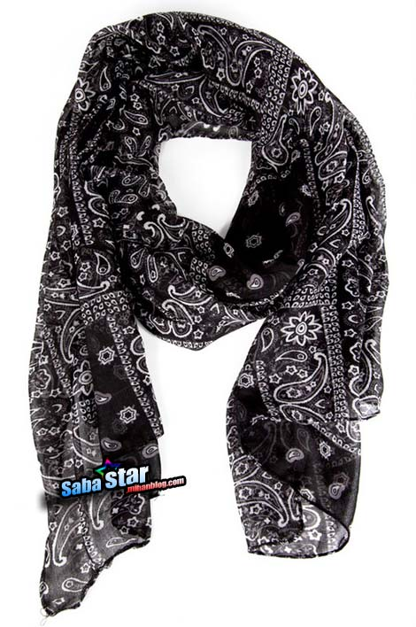 تازه ترین های شال و روسری برای خانم ها 2013