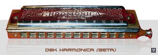 دانلود وی اس تی ساز دهنی  با نام DSK Harmonica
