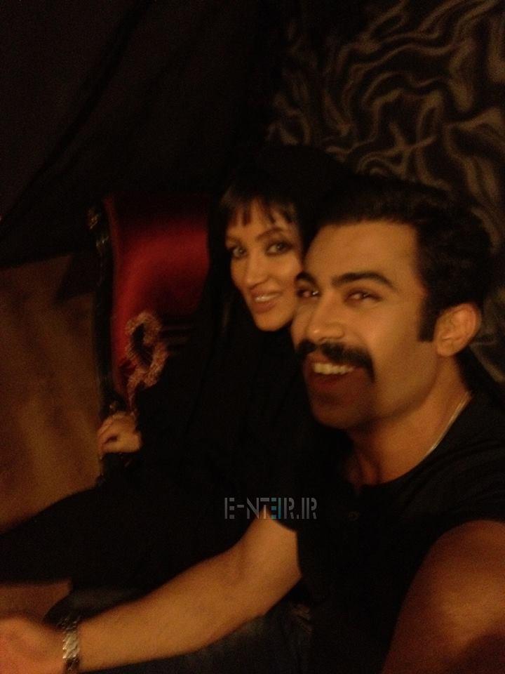 جدید ترین عکس روناک یونسی و همسرش محسن میری